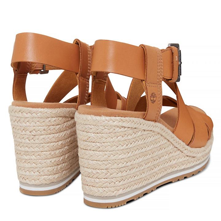 Nice Coast Cross Strap Sandal Amarillo Mujer-