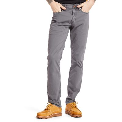 Sargent+Lake+Stretch+Trousers+for+Men+in+Grey
