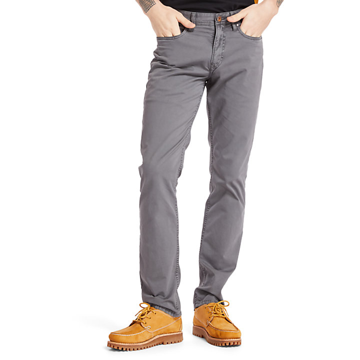 Pantalon stretch Sargent Lake pour homme en gris-