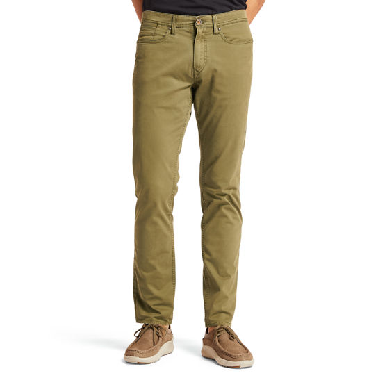 Sargent Lake Stretch Trousers for Men in Dark Green | Timberland