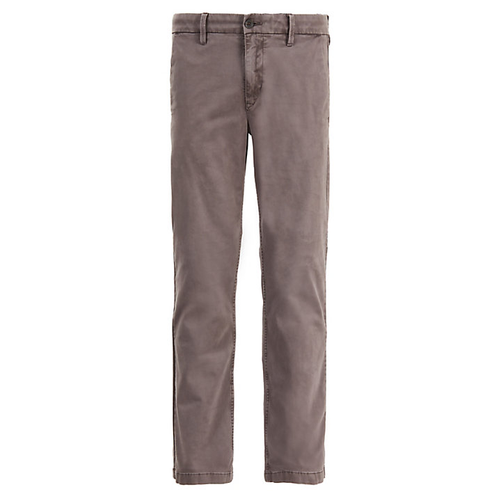 Squam Lake Twill Chinos for Men in Grey-