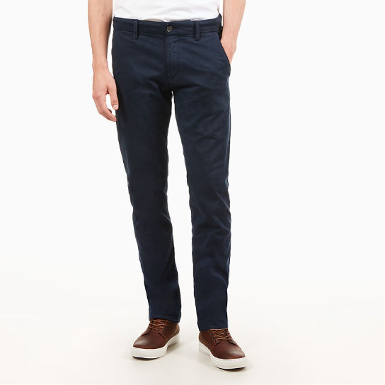 Sargent Lake Twill Chinos  for Men in Navy | Timberland