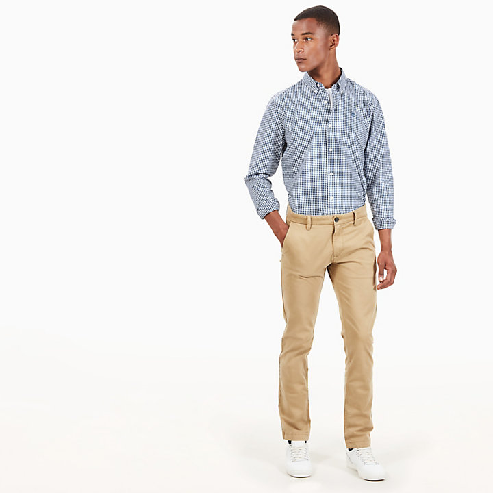 Sargent Lake Twill Chinos  for Men in Beige-