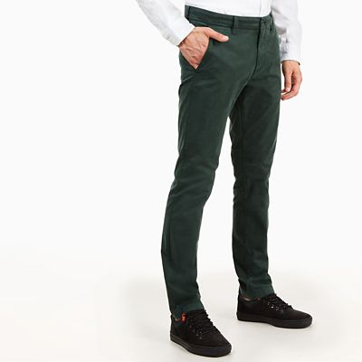 Sargent+Lake+Twill+Chinos++for+Men+in+Green