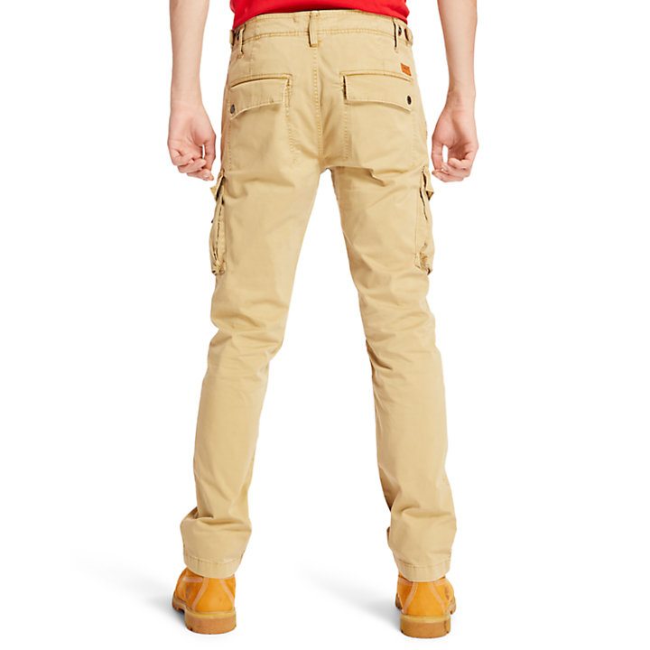 Pantaloni Cargo da Uomo Squam Lake in kaki-