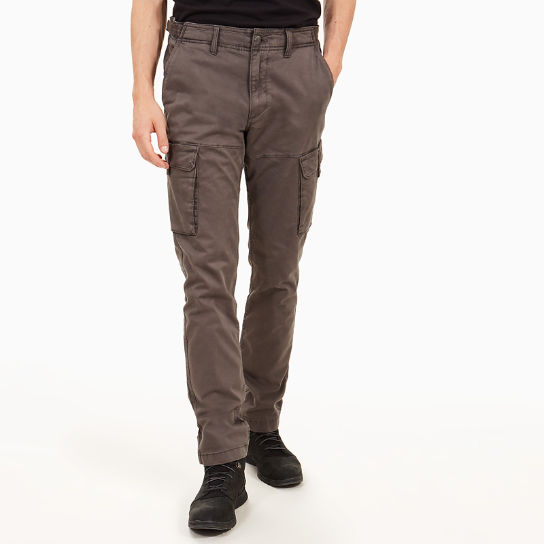Squam Lake Twill Cargo Trousers for Men in Grey | Timberland
