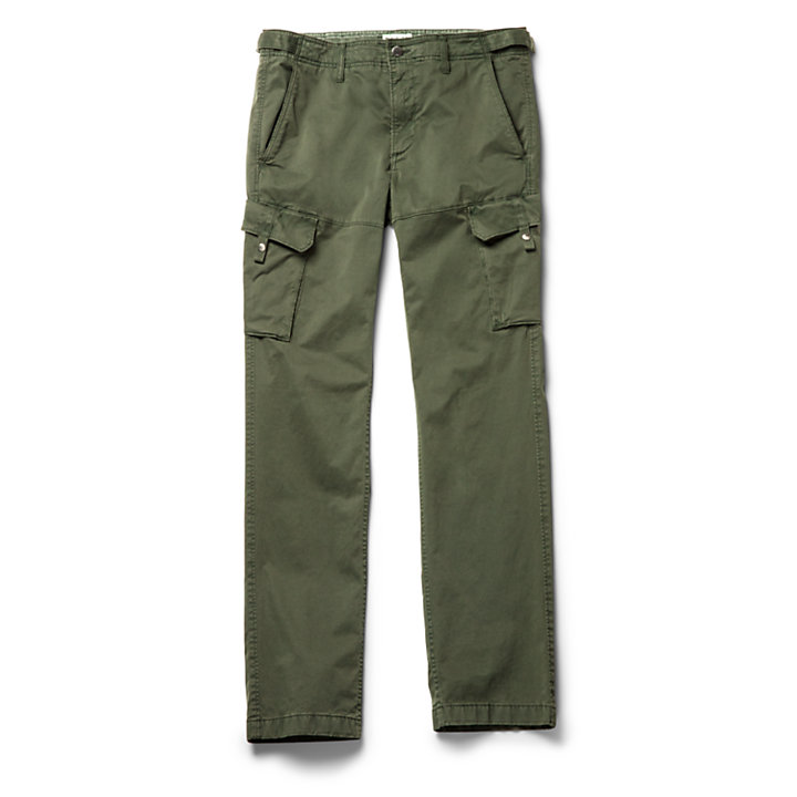 Pantaloni Cargo da Uomo Squam Lake in verde-
