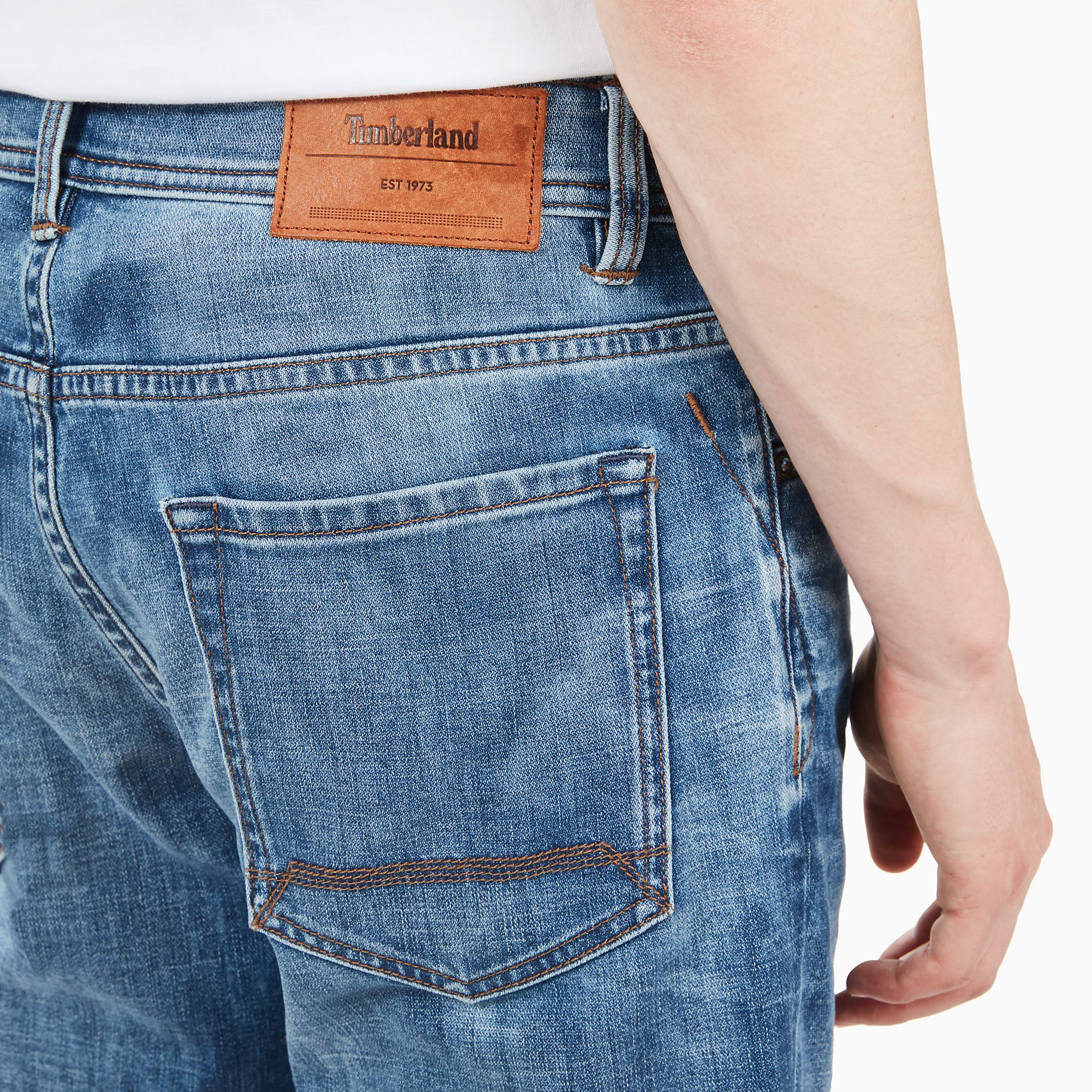 0206bb53 Timberland Sargent Lake Jeans for Men in Indigo at £80   love the brands