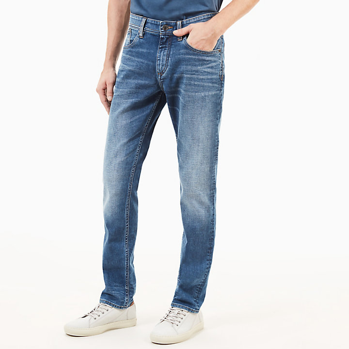 Sargent Lake Jeans for Men in Worn-in Blue-