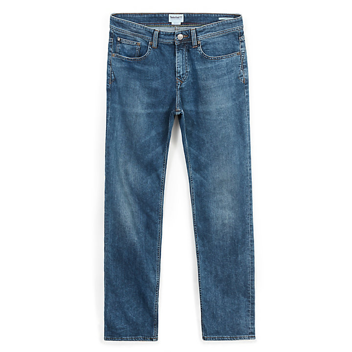 Squam Lake Jeans for Men in Indigo Blue-