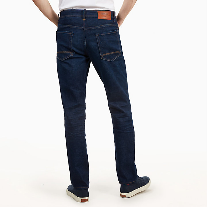 Squam Lake Jeans for Men in Dark Indigo-