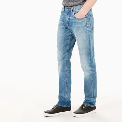 Squam+Lake+Jeans+for+Men+in+Light+Blue