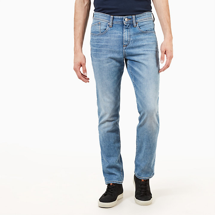 Squam Lake Jeans for Men in Faded Blue-