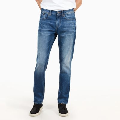 Squam+Lake+Jeans+for+Men+in+Worn-in+Blue
