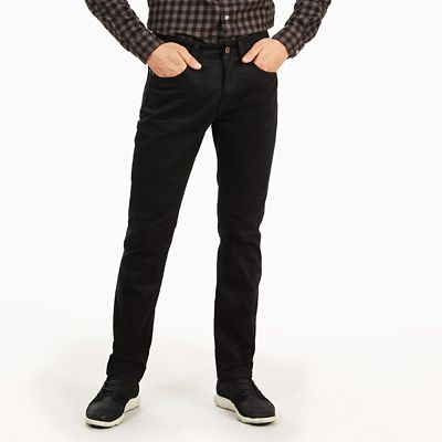 Squam+Lake+Washed+Jeans+f%C3%BCr+Herren+in+Schwarz