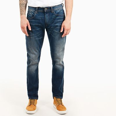 Profile+Lake+Tapered+Jeans+for+Men+in+Blue