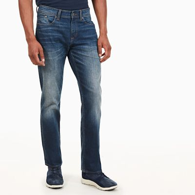 Jean+cargo+stretch+Webster+Lake+pour+homme+en+bleu