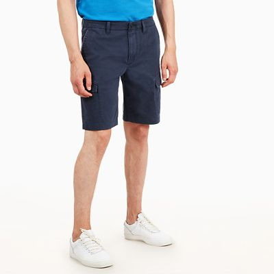 Webster+Lake+Cargo+Shorts+for+Men+in+Navy
