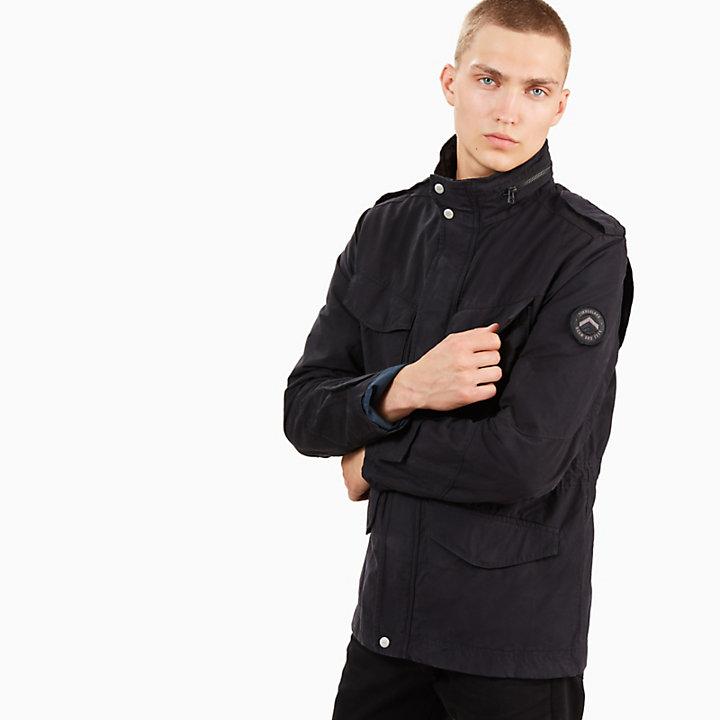 Mount Kelsey M-65 Jacket for Men in Black-