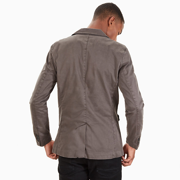 Mount Avalon Blazer for Men in Dark Grey-