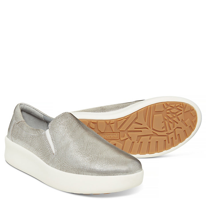 Berlin Park Slip On for Women in Silver-