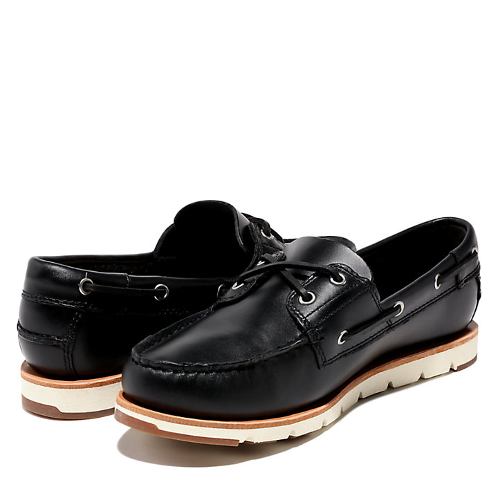 Camden Falls Boat Shoe for Women in Navy-