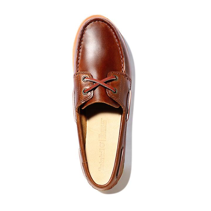 Camden Falls Boat Shoe for Women in Brown-