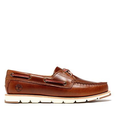 Camden+Falls+Boat+Shoe+for+Women+in+Brown