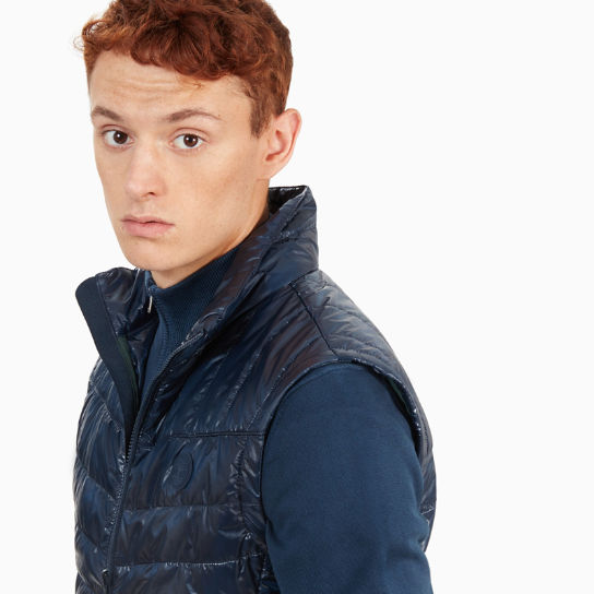 Skye Peak Vest Jacket for Men in Navy | Timberland