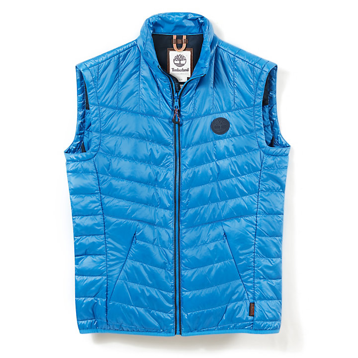 Skye Peak Vest Jacket for Men in Blue-