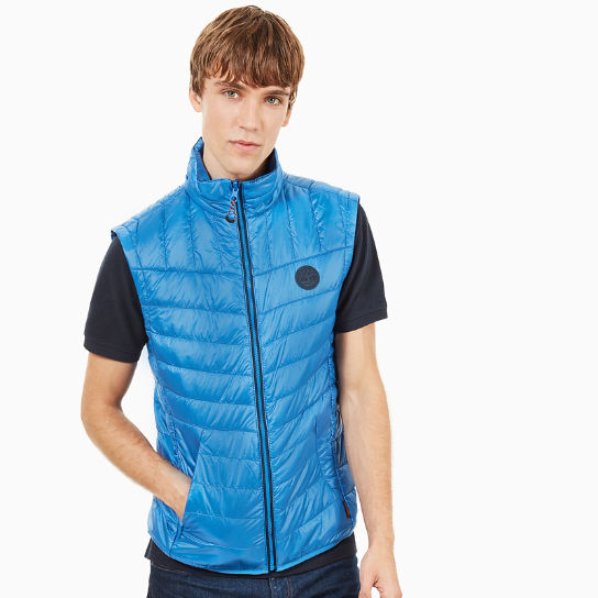 Skye Peak Vest Jacket for Men in Blue | Timberland