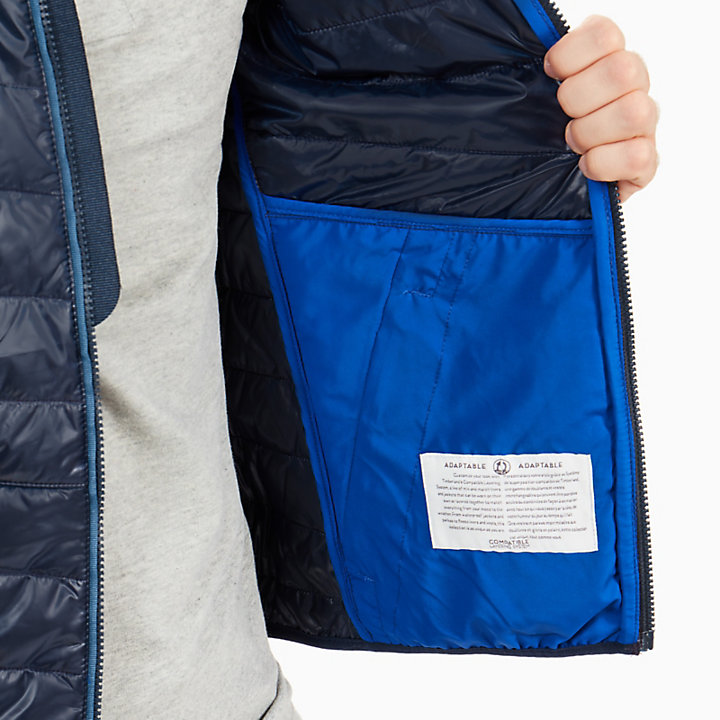 Veste à Capuche Skye Peak pour homme en bleu marine-