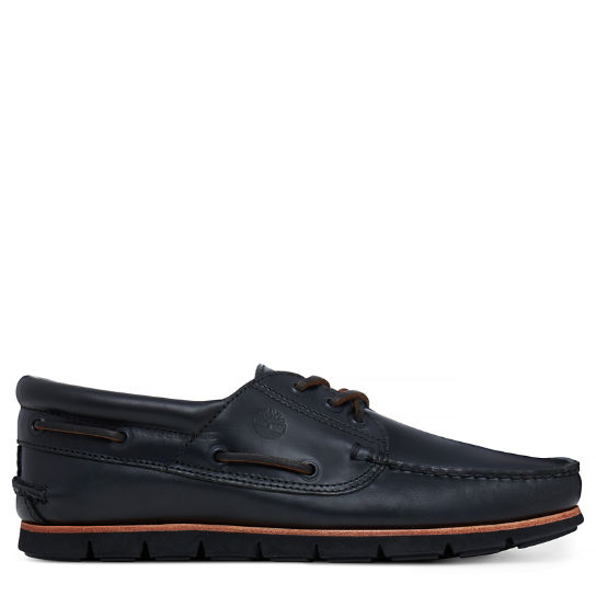 Tidelands 3-Eye Chaussure bateau Homme noires | Timberland