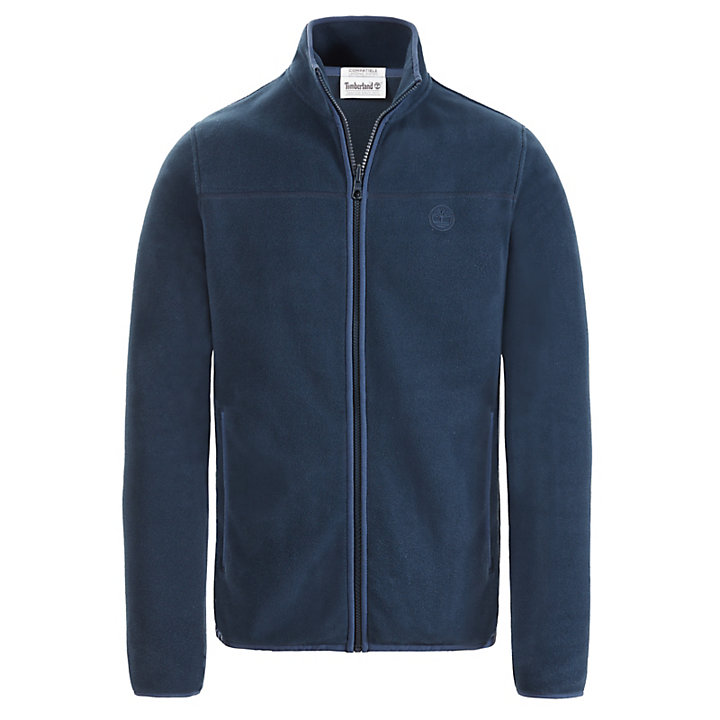Whiteface River Fleece Jacket for Men in Navy-