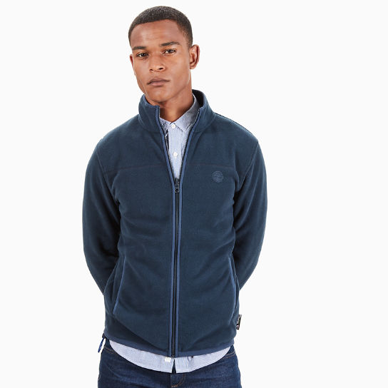 Whiteface River Fleece Jacket for Men in Navy | Timberland