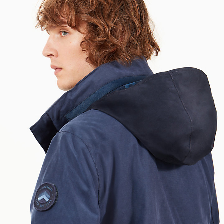 Snowdon Peak M65 3-in-1-Herrenjacke in Navyblau-