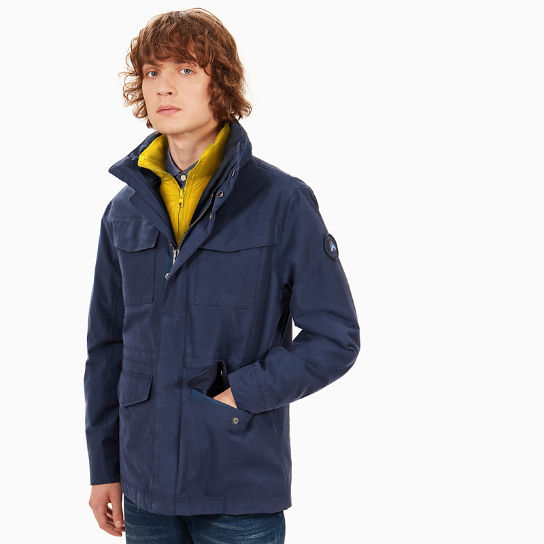 Snowdon Peak M65 3-in-1-Herrenjacke in Navyblau | Timberland