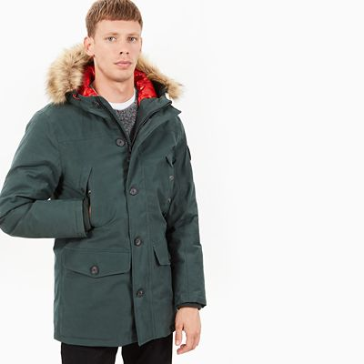 Scar+Ridge+Expedition+Parka+voor+Heren+in+Donkergroen