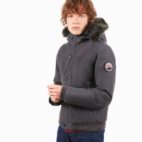 Scar Ridge Snorkel Jacket for Men in Dark Grey | Timberland