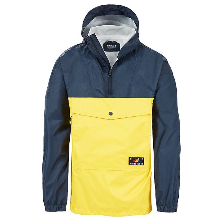 Mount Bond Raincoat for Men in Grey / Yellow-