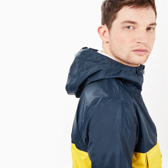 Mount Bond Raincoat for Men in Grey / Yellow | Timberland