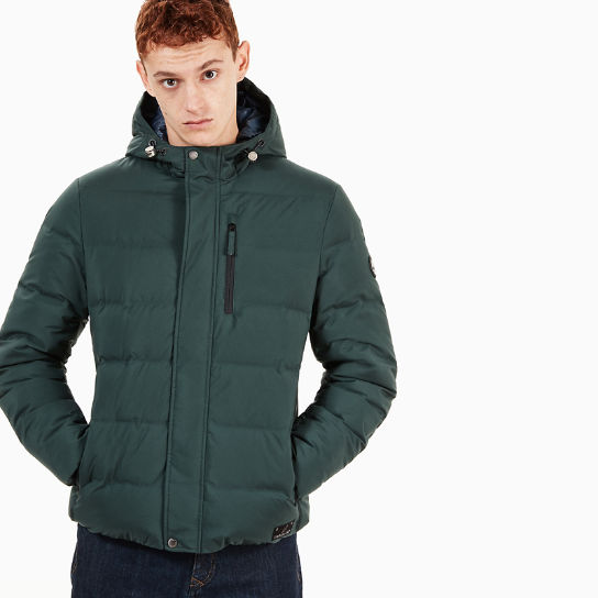 Goose Eye Jacket for Men in Dark Green | Timberland