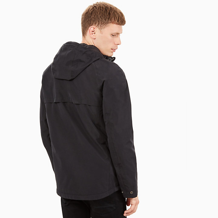 Ragged Mountain Raincoat for Men in Black-