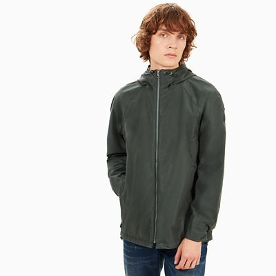 Ragged+Mountain+Raincoat+for+Men+in+Dark+Green