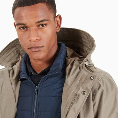 Fishtail+3-In-1+Parka+for+Men+in+Grey