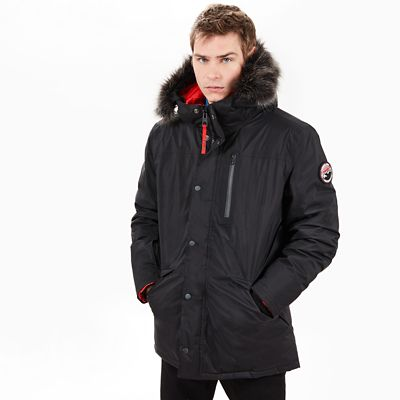 Scar+Ridge+Expeditionsparka+f%C3%BCr+Herren+in+Schwarz