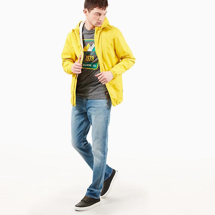 Coupe-vent Mount Bond pour homme en jaune-