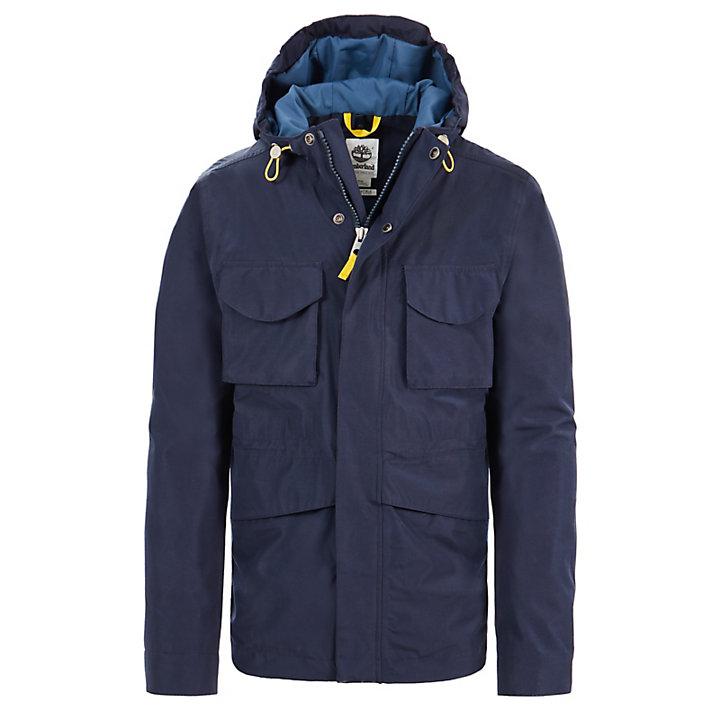 Imperméable Mount Clay pour homme en bleu marine-