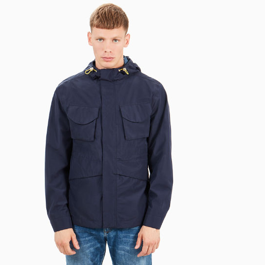 Mount Clay Raincoat for Men in Navy | Timberland