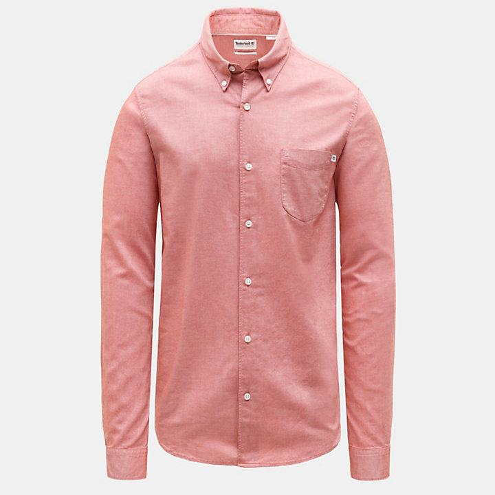 Gale River Oxfordhemd für Herren in Rot-